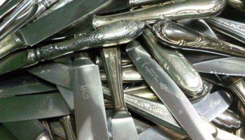 Silber Messer